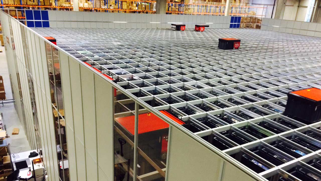 Robot Based Warehouse System Exported To Germany Norway Exports