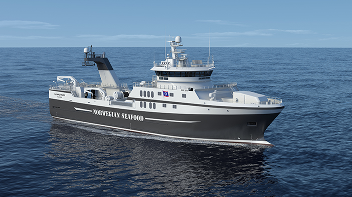 Rolls-Royce to deliver ship design and equipment to a new fishing