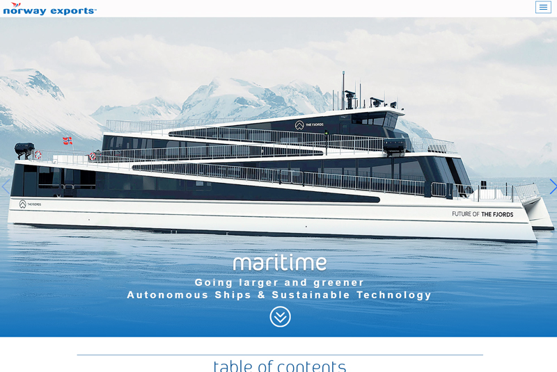 Norway Exports Maritime Digital