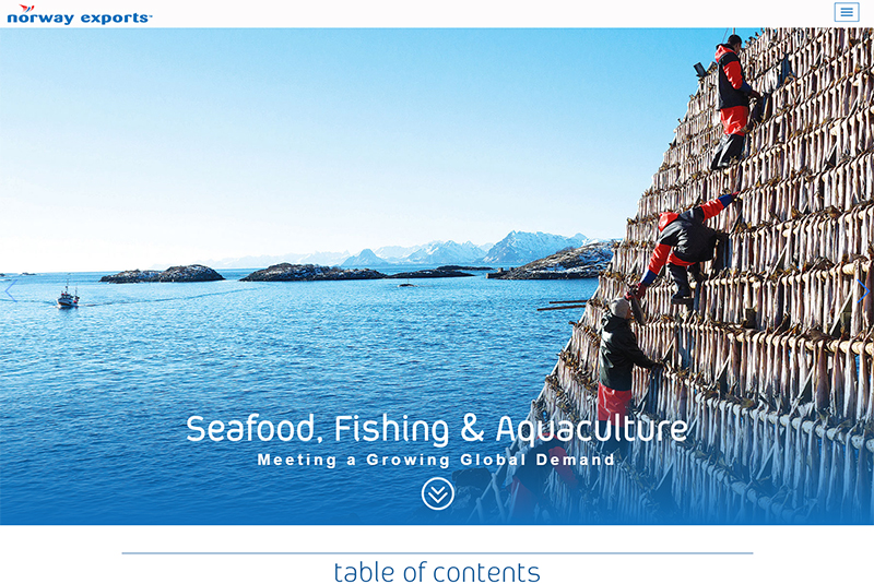 Seafood, fishing & aquaculture digital