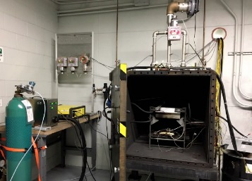 DNV GL's large battery destructive test chamber in Rochester