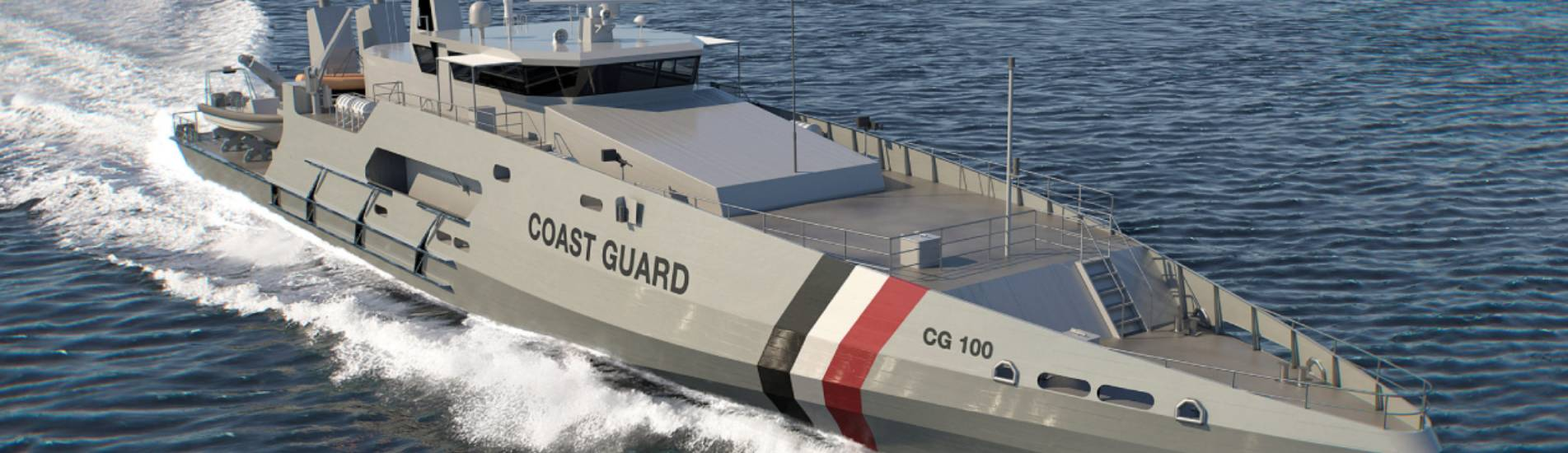 Vestdavit fulfils four-davit order for Trinidad and Tobago coast guard